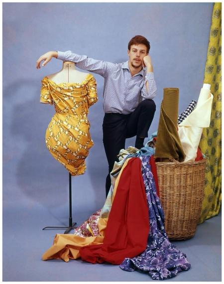 Couturier (fashion designer) Frans Molenaar Nederland, 1960