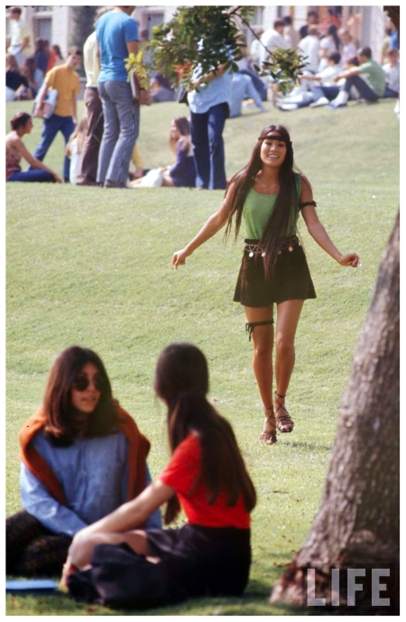 High School Fashion 1969 Arthur Schatz c