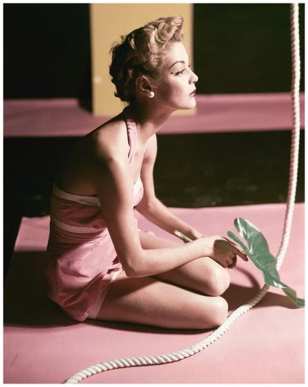 Jean Patchett Horst P. Horst, Vogue, December 1, 1951