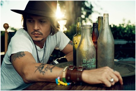 Johnny Depp, Esquire, May 2004