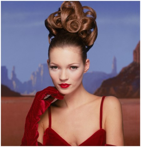 Kate Moss Photo Terry O'Neill (1995)d