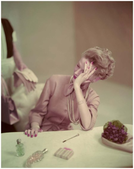Life's tough. Vogue 1947