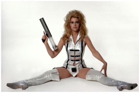 Rome. Jane Fonda who starred in %22Barbarella.%22 September 1967 Guy Le Querrec b