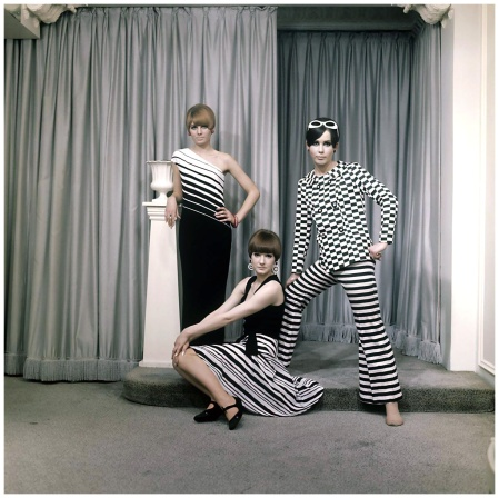 Studio shot (Fashion Optical Art) 1966 Photo Henk Hilterman
