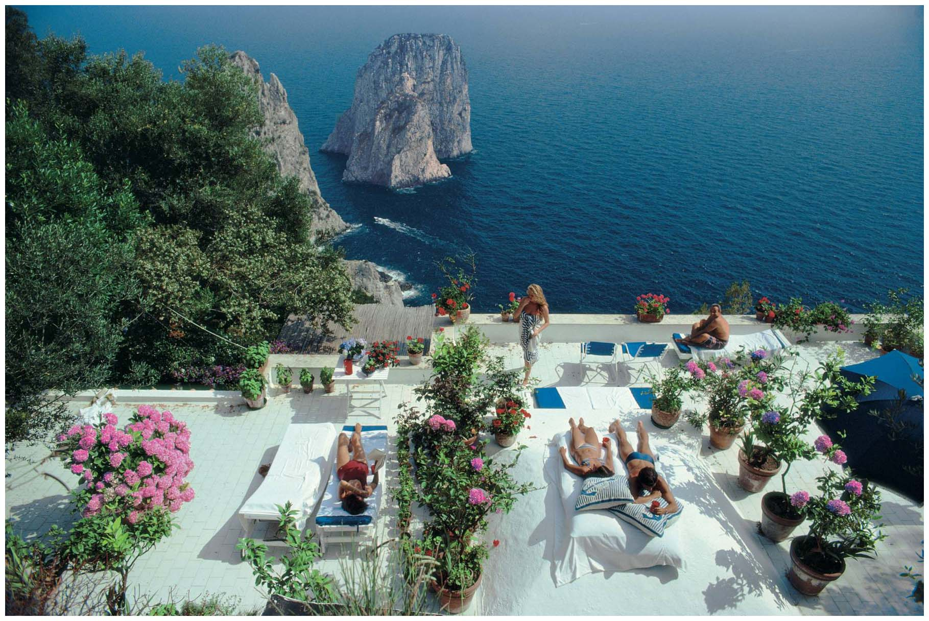 Obsessions by gessica la dolce vita by slim aarons for What is the terrace