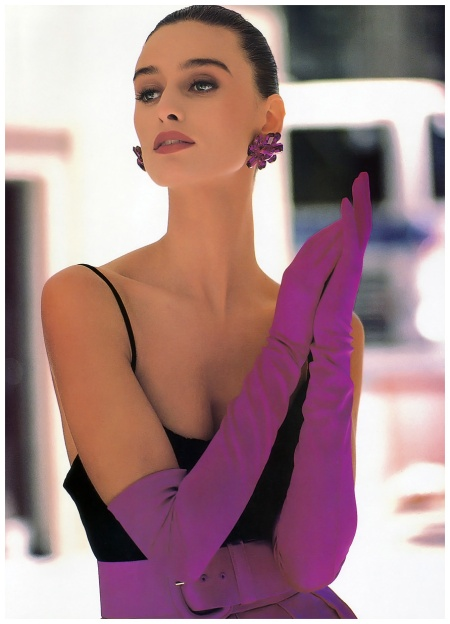 Vogue Sept 1988 Aly Dunne - Photo Anne Klein  ads a