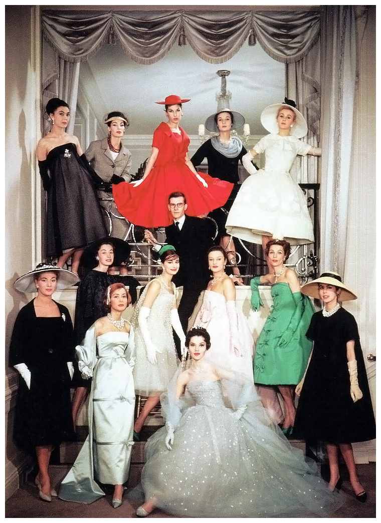 Yves saint laurent couture spring 1958 pleasurephoto for Couture house