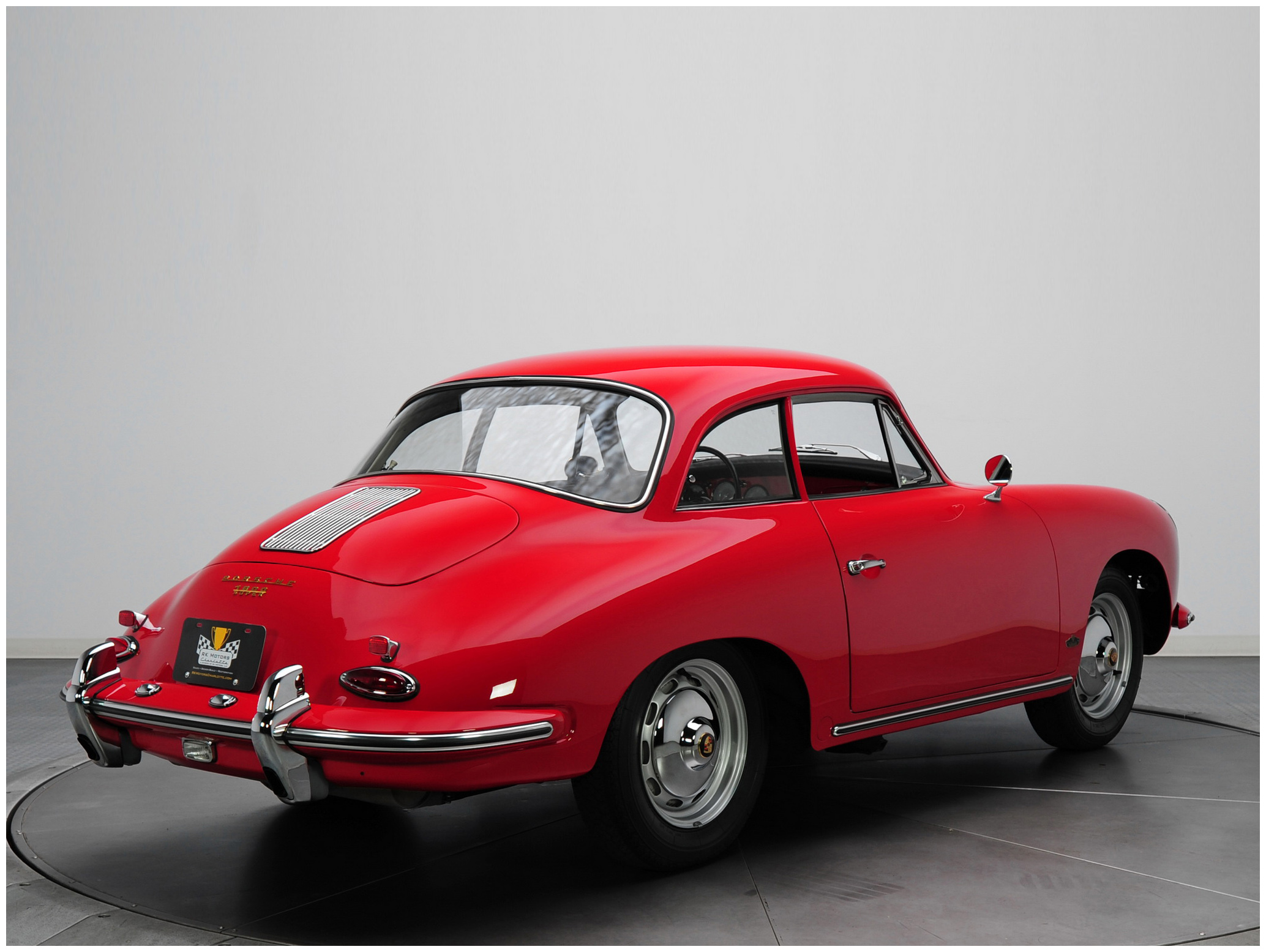 1961 porsche 356b 1600 super coupe by karmann pleasurephoto. Black Bedroom Furniture Sets. Home Design Ideas