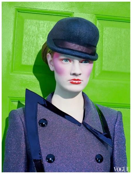 Constance Jablonski by Miles Aldridge Columbia Road Vogue It 2009