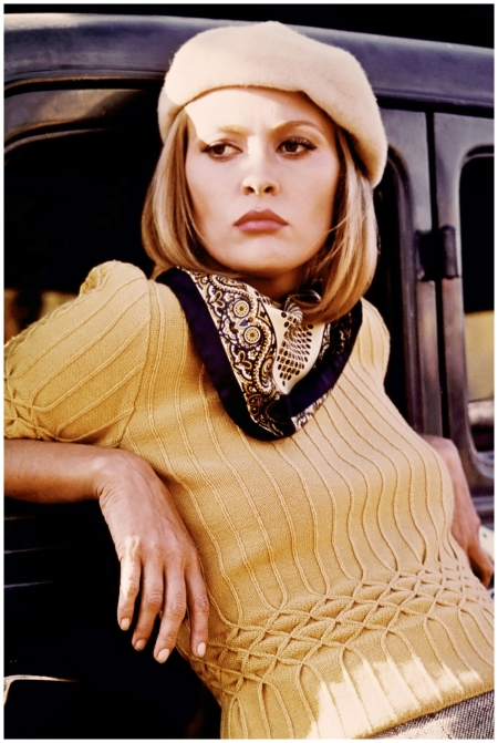 Faye Dunaway – The Bonnie & Clyde star's swingy, shoulder-length bob made her the most stylish screen criminal we've seen 1967
