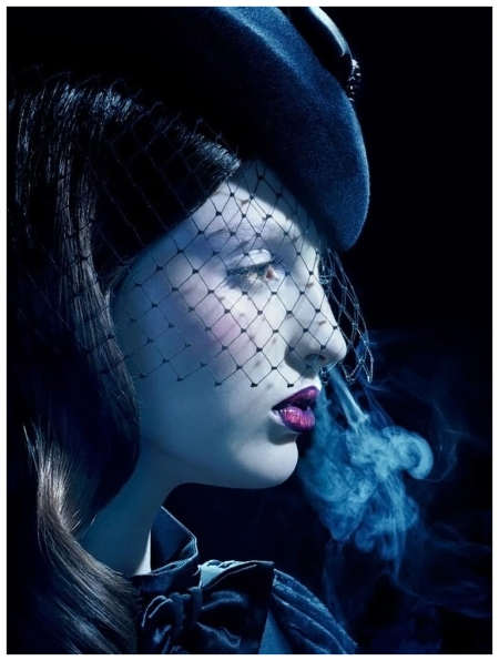 Georgina Stojilkovic by Miles Aldridge