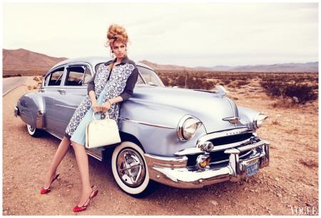 Hailey Clauson shot by Nicole Bentley for Vogue Australia, March 2012