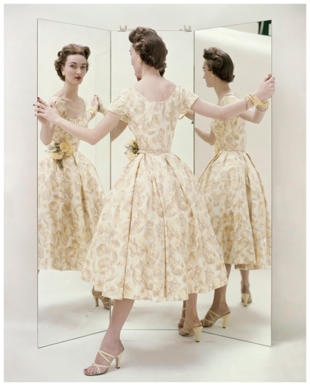 Three Views of a Summer Party Dress