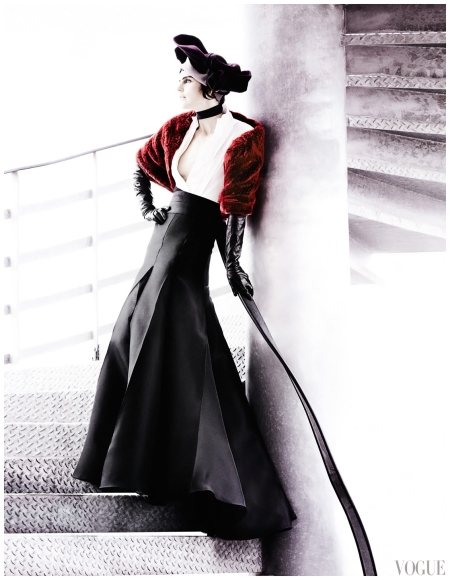 Stella Tennant, Marte van Haaster Photographed by Mario Testino for Vogue UK September 2012