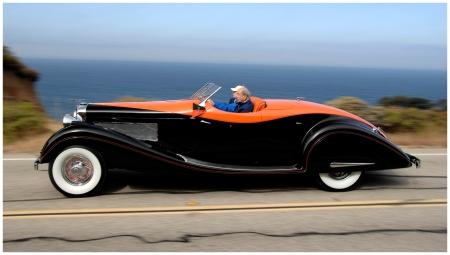 1935 Duesenberg J Gurney-Nutting Speedster by Ian Jones