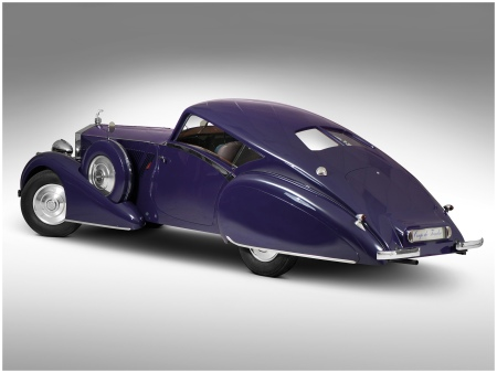 1937 Rolls-Royce Phantom Aero Coupe