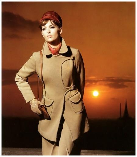 Astrid Heeren, photo by F.C. Gundlach for 'Brigitte' magazine, Hamburg, 1965