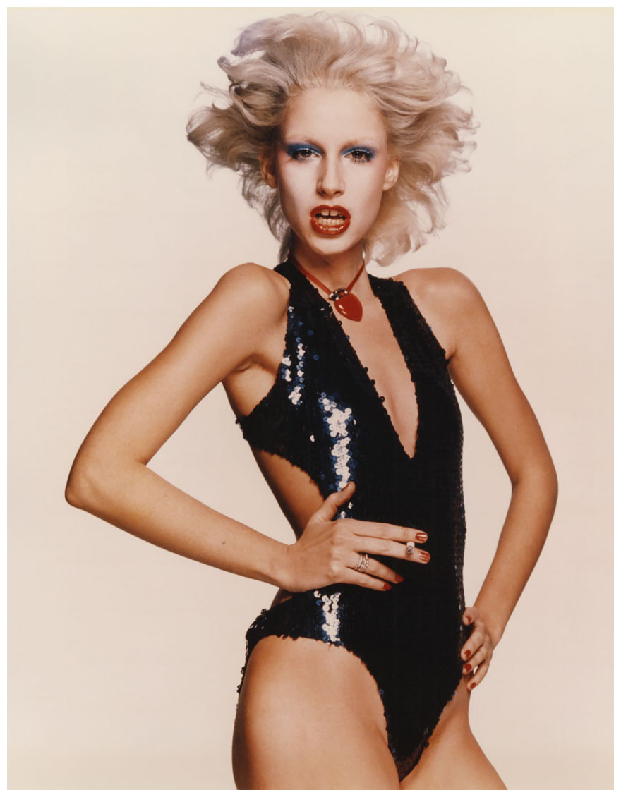 - chris-von-wangenheim-e280a8donna-jordan-in-sequined-bodysuit-circa-1977