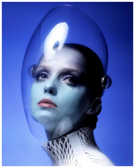 Donna Mitchell by Clive Arrowsmith 1970