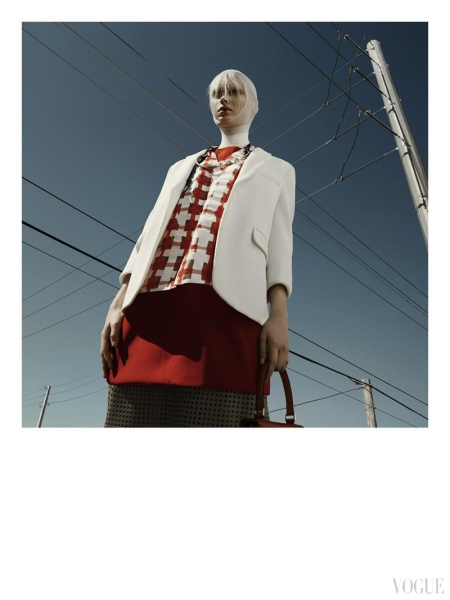 Greg Kadel Snaps Steffi Soede for Vogue Italia April 2013 b