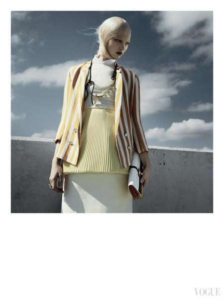 Greg Kadel Snaps Steffi Soede for Vogue Italia April 2013 c