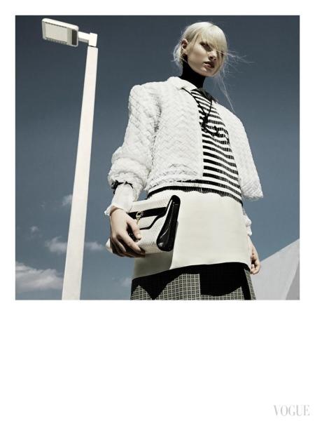 Greg Kadel Snaps Steffi Soede for Vogue Italia April 2013
