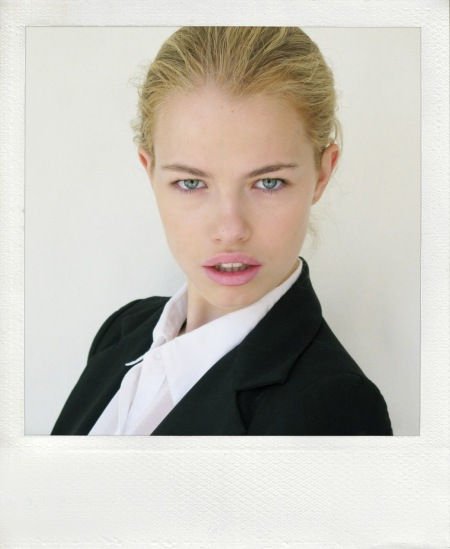 Hailey Clauson Agency Polaroid