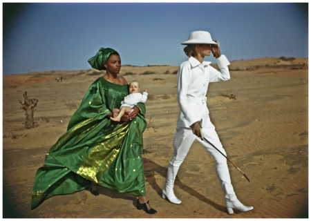 Helmut Newton_ French Vogue Dakar 1971