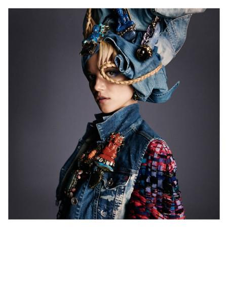 Kasia Struss by Greg Kadel for Numero a