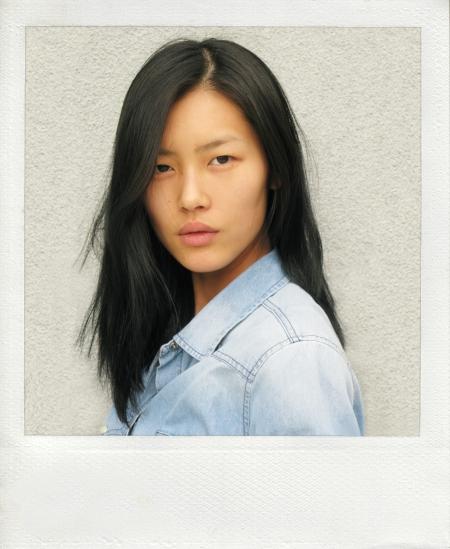 Liu Wen 2010 Agency Polaroid
