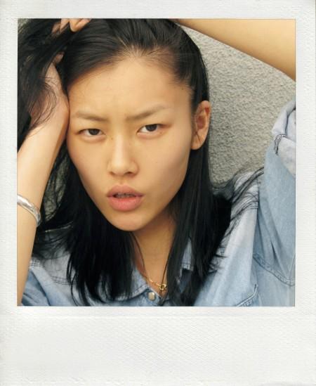 Liu Wen 2010 (The Chameleon) Agency Polaroid