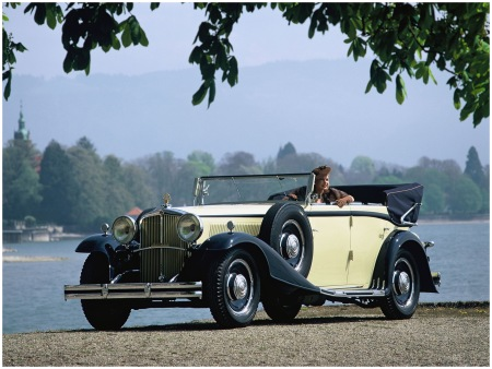 Maybach Zeppelin DS8 4-door Cabriolet '1930–34