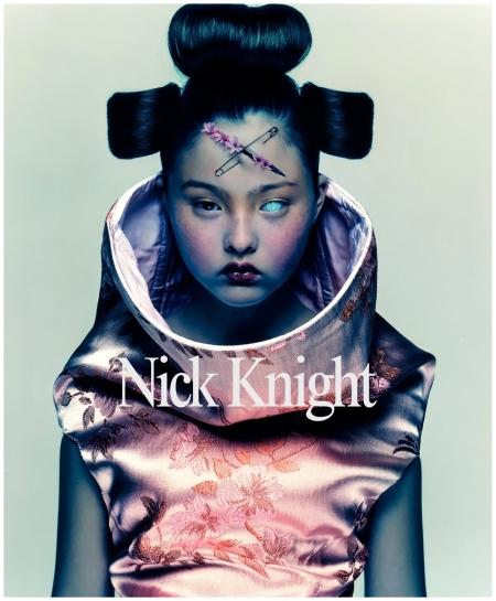 Photo Nick Knight - Cover - Alexander McQueen Model Devon Aoki 1997