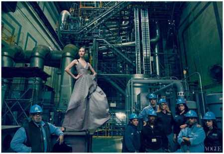 Storm Troupers - Photographed by Annie Leibovitz, Vogue, February 2013 b
