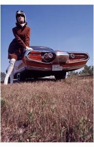 The streamlined stocking boot look Gene Laurents, Vogue, November 1963