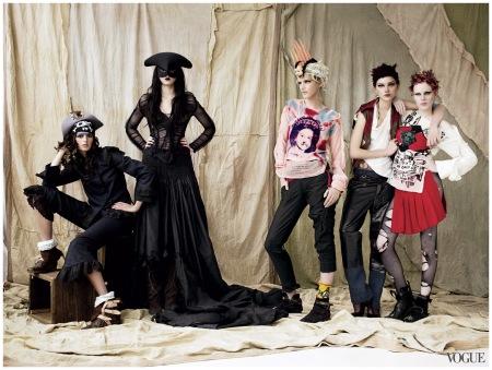 Photographed by Mario Testino, Vogue, May 2006
