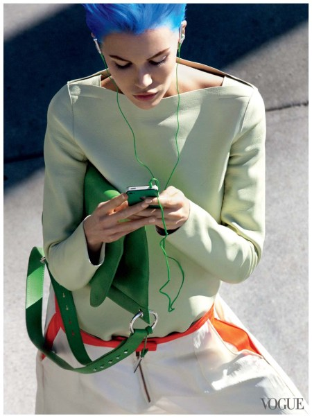 Britt Maren Photographed by Raymond Meier, Vogue, February 2011