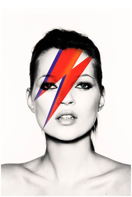 Kate as Aladdin Sane, 2003 Photo Nick Knight