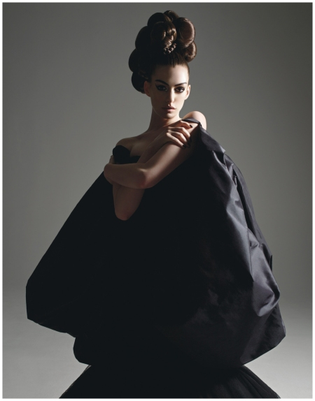 Photo by Mario Sorrenti Anne Hathaway