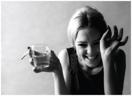 Edie Sedgwick, 1966 Photo Jerry Schatzberg det