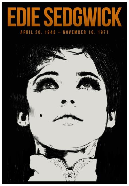 Edie Sedgwick poster