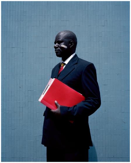 """George David Otieno Obiero"""", fot. Viviane Sassen"""