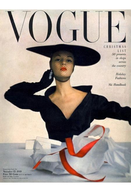 Jean Patchett, Vogue, November 1949 © Irving Penn
