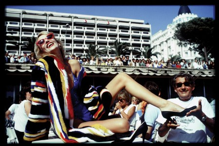 Jerry Hall and Helmut Newton, Cannes by David Bailey, 1983 Photo David Bailey