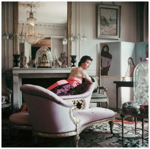 Paris 1953 - Apartment of Elsa Schiaparelli Photo Mark Shaw