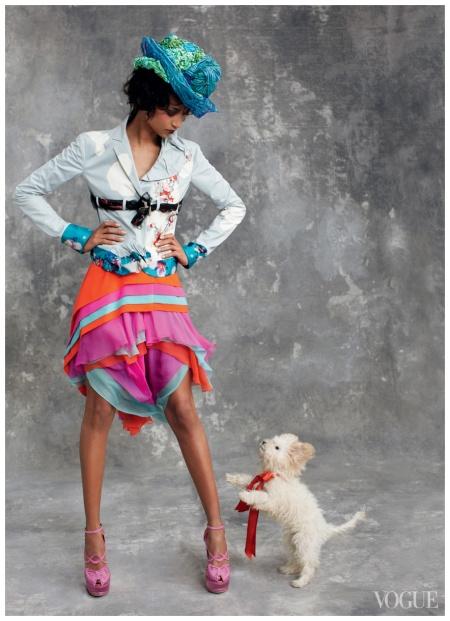Photographed by Arthur Elgort, Vogue, April 2011