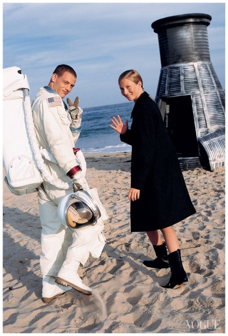 Photographed by Arthur Elgort, Vogue, November 1, 1998 b Ryan Locke Maggie Rizer