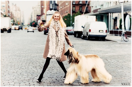 Photographed by Arthur Elgort, Vogue, October 2004