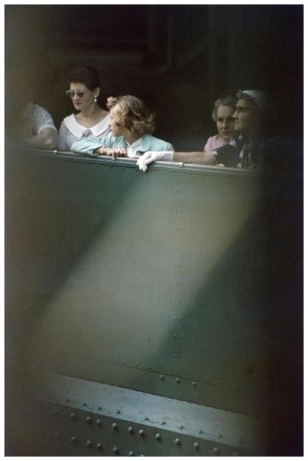 Saul Leiter Baseball 1953