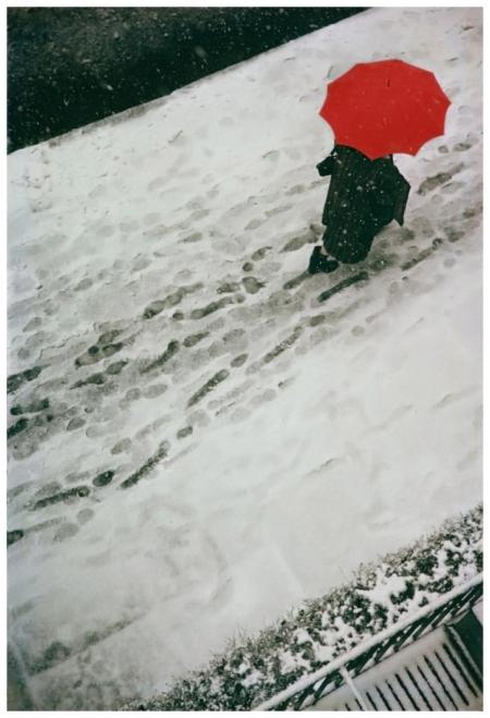 Saul Leiter Footprints 1950